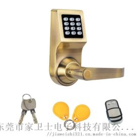 多功能家居遥控电子锁 智能防盗密码锁 感应遥控门锁