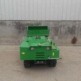 大棚葡萄開溝施肥機, 履帶遙控施肥機視頻