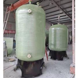 厂家加工生产玻璃钢氮封水箱 分离器 玻璃钢树脂罐