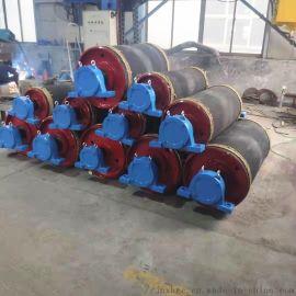 精选煤皮带机铸胶改向滚筒 500阻燃铸胶改向滚筒