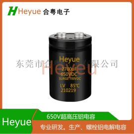 铝电解电容2700UF650V