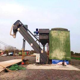 新款水泥粉煤灰装卸车输送机集装箱倒灰机