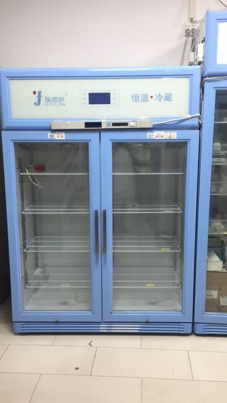 显示温度的医用冰箱
