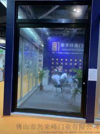 深圳铝合金中轴门 大空间开启中轴旋转门