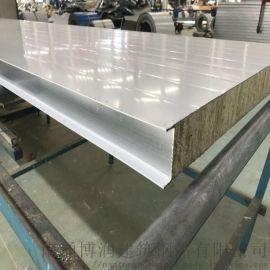 岩棉夹芯板 岩棉彩钢复合板 南通博润生产厂家