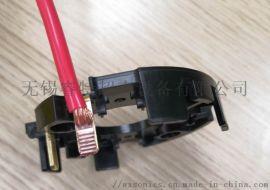 黄铜端子与多股线超声波金属点焊接机