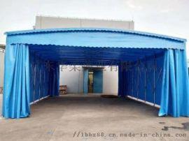 推拉棚移动蓬收缩式雨棚活动户外遮阳棚夜市折叠帐篷
