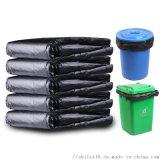 厂家直销大垃圾袋加厚大码黑色酒店物业环卫平口塑料袋