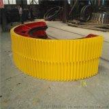 1.83球磨機大齒輪對開式鑄鋼2.2米球磨機大齒輪