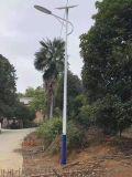 LED路灯户外新农村道路灯杆 自弯臂高杆