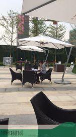 创意休闲桌椅组合--美式乡村田园风格-户外铁艺桌椅