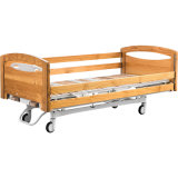 H2h7m-f1 手动病床 木质护栏板家居床