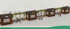 售卖亭效果图设计,平面设计--找户外时景家具