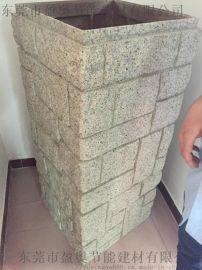 陕西人造石厂家直销柱子护栏包柱材料包柱石