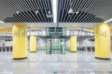 地鐵站黃色1.5厚基材立柱搪瓷鋼板