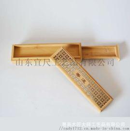 楠竹熏香木盒家用实木线香沉香竹盒