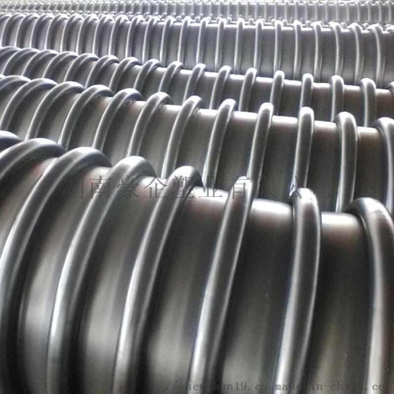 湖南长沙HDPE克拉管B型结构壁管增强螺旋管现货