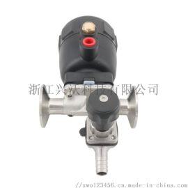 專業生產衛生級取樣隔膜閥/質量保障