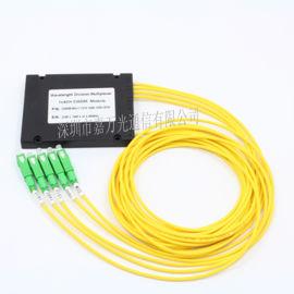 波分复用器 光纤波分复用器1*4CWDM波分