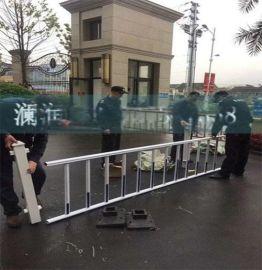 PVC隔离围栏草坪护栏PVC别墅护栏 绿化塑钢草坪护栏