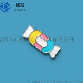 烤漆徽章定制,锌合金徽标制作,深圳胸章定制厂