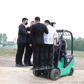 四轮蓄电池平衡重式叉车 捷克 2吨多工能电动叉车