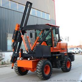 捷克 高速公路打拔钻一体打桩机 打桩机专业生产厂家