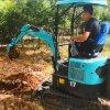 電纜挖溝機 廠家全新小型挖掘機 六九重工lj 17