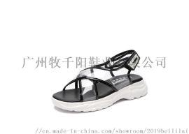 超纤沙滩凉鞋 广州MUSUNNYO凉鞋 pu凉鞋