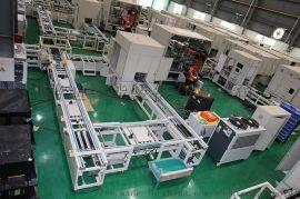 机器人焊接装配线 汽车零配件非标自动化倍速线