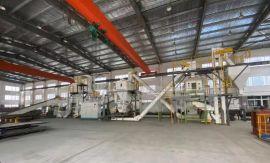 制作猫砂设备的环模颗粒机组 玉米猫砂造粒生产线厂家