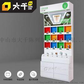 商业照明体验店LED产品展示柜商超灯饰推广展柜