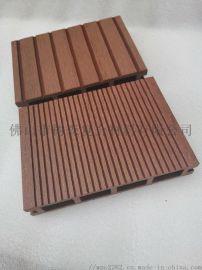 塑木地板防滑槽面户外地板园林工程140-25