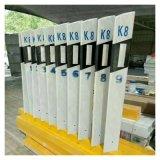 電力警示牌 霈凱標誌樁 玻璃鋼警示樁廠家