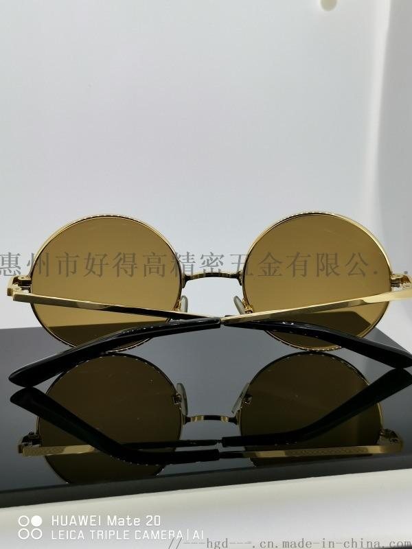 眼鏡框18K鏡框時尚圓框墨鏡近視眼鏡