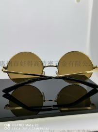 眼镜框18K镜框时尚圆框墨镜近视眼镜