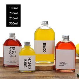 優質系列玻璃瓶,白料瓶350ml