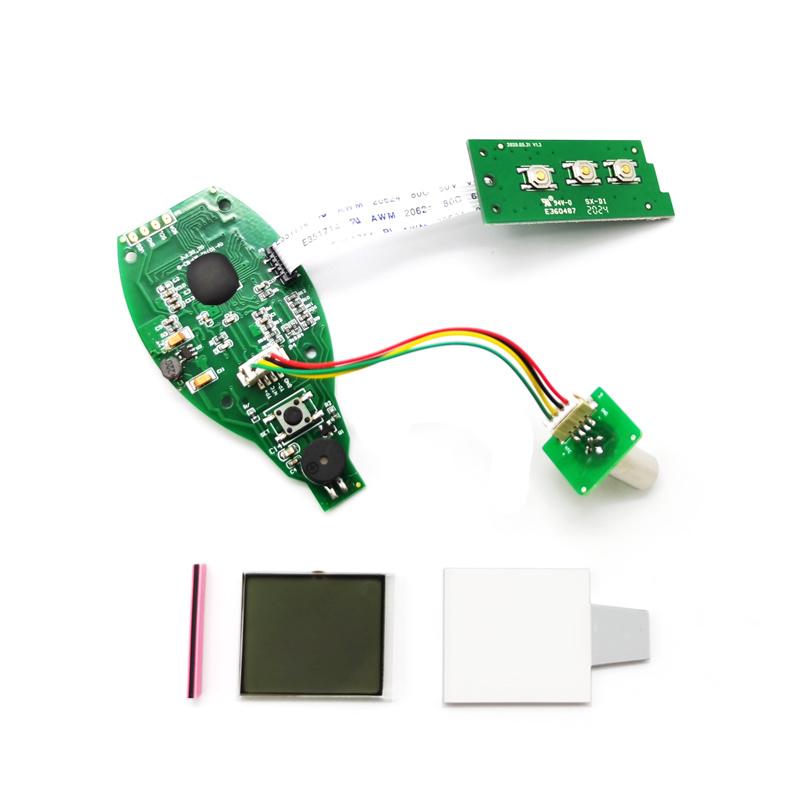 紅外測溫儀方案    晶片/PCBA 三色顯示