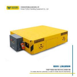 无轨胶轮方位移动地面轮式转运车 蓄电池电动平车