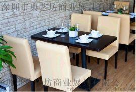 深圳典艺坊家具厂专业订做各种烧烤店桌椅 酒店桌椅 网吧桌椅 甜品店桌椅