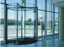 水晶旋转门(**美全玻璃型) (NGM-03)