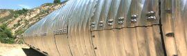 波纹管热浸塑钢管