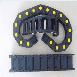 塑料拖链 工程塑料拖链 塑料坦克链 机床穿线拖链