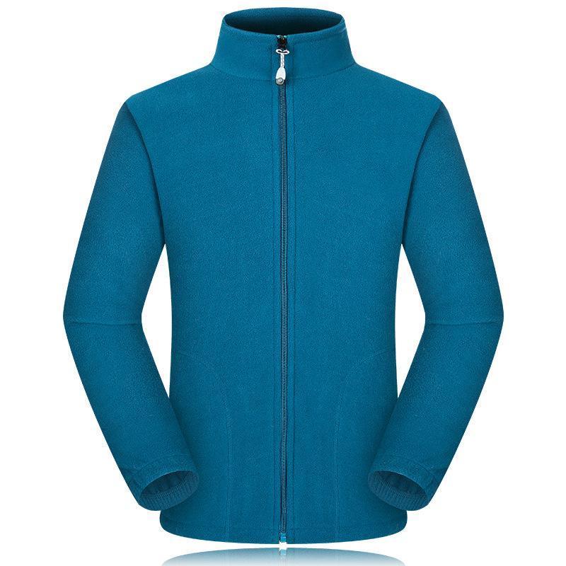 廠家定做秋冬裝休閒立領純色男式夾克款工衣制服可刺繡印刷logo