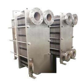 江苏远卓食品级包不锈钢板式热交换器