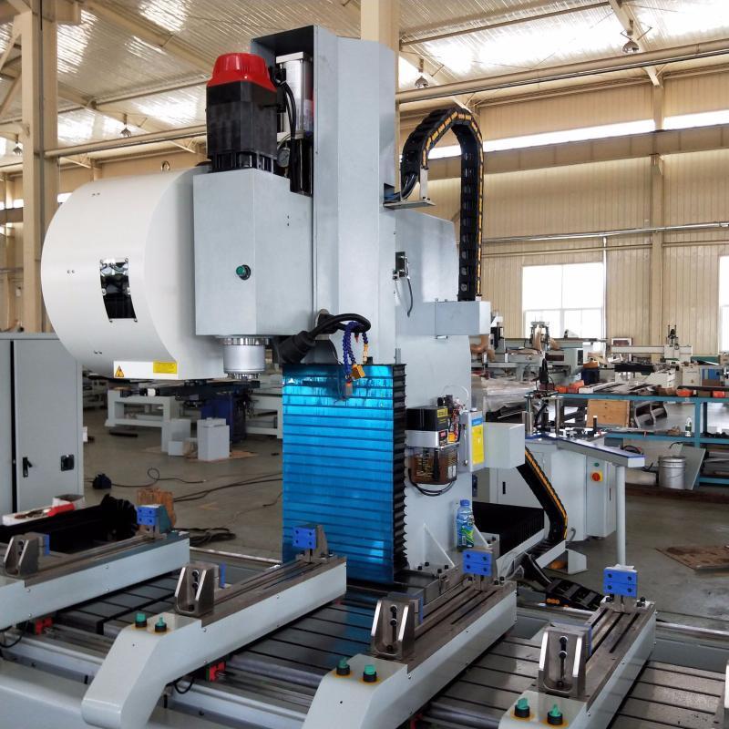 厂家直销 铝型材三轴加工中心轨道交通加工设备