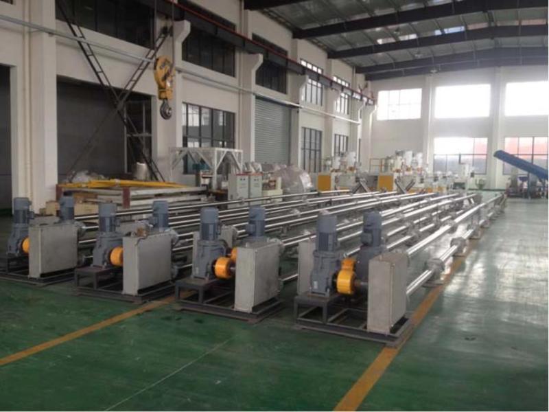 【鬆遠科技】鋰電行業負極材料、電解質材料專用管鏈輸送