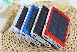 工厂直供5节太阳能移动电源 20000超大容量电池充电器 手机通用