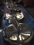 YAC型椭圆人孔厂家 不锈钢卫生级喇叭口椭圆人孔