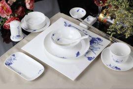 酒店大型煲汤餐具 酒店陶瓷托盘
